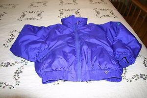Obermeyer Girls Ski Jacket Snowboard Coat Cute Winter Juniors 14 Purple