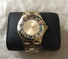 New Marc Jacobs MBM3263 Ladies Henry Gold Watch