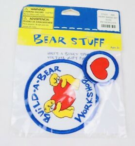 Retired Brand New Build a Bear Workshop Girl Scout Patch Set