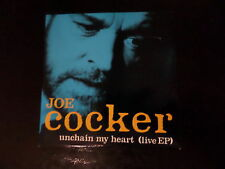 CD SINGLE - JOE COCKER - UNCHAIN MY HEART - LIVE EP