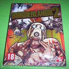 BORDERLANDS 2 NUEVO Y PRECINTADO PAL ESPAÑA PLAYSTATION 3