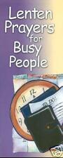 Roman Catholic Lenten Prayers for Busy People Brochure - Lent - Easter