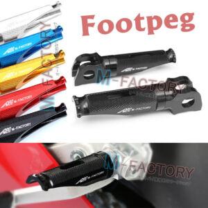 For Kawasaki Front Rider Foot Pegs ZX-10R Ninja 2004 2005 2006 2007 2008 2009