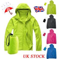 Mens Green Wax Coated Lightweight Coat  Festival Waterproof size Medium