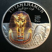 Cook Islands - Silver 1 Dollar Coin - Tutankhamun - 2012 - Proof