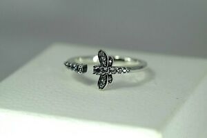DISCOUNT BLACK FRIDAY PANDORA Sparkling Dragonfly Open Ring