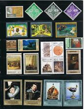 Art Painting MNH VF Collection, Vase, Crown, Cartoon,... 20 x
