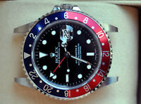 Rolex [NEAR NOS+B+P+NO-HOLE] GMT Master 2 Pepsi 40mm 16710T - 2005