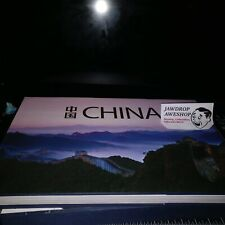 CHINA PHOTOGRAPHY BOOK (HUGE GLOSSY HARDCOVER) GUANG GUO MING TAN (Minor Damage)
