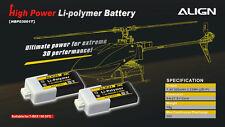 Align Trex 150X 150 2S1P 7.4V 300mAh/30C Li-poly battery HBP03001