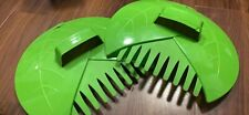 New Gardenised Pair of Leaf Rake Grabbers for Lawn and Garden Cleanup, QI003286