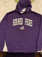 Tcu Horned Frogs Mens Purple Hoodie Size M