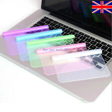 """Universal Silicone Laptop Keyboard Skin Protector Cover  for 15"""" 17"""" uk seller"""