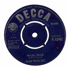 "Alan Price Set - Hi-Lili, Hi-Lo - 7"" Record Single"