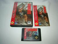 Sega Genesis Cliffhanger game cartridge w/ case & manual, tested working