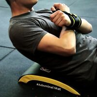 Abdominal Exercise Mat Core Muscle Strength Trainer Cross Sit Up Training