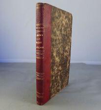 FLEURY / PRECIS HISTORIQUE DU DROIT FRANCAIS avec LA CONTINUATION...DUPIN / 1826