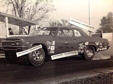 John Kunsak 8x10 Nhra 66 Impala Chevy B Body Vintage Photo