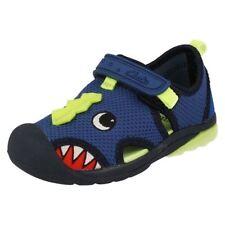 Sandales bleu avec attache auto-agrippant pour garçon de 2 à 16 ans