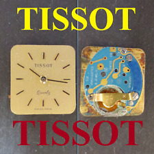 movimento tissot quartz eta 978.001 old dial movement watch part vintage Rarität