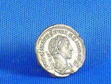 Roman Emperor Severus Alexander silver denarius EF Coin Jupiter Zeus Numismatic