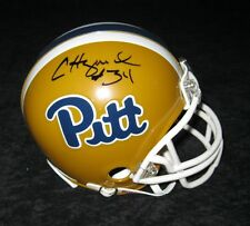 CRAIG HEYWARD SIGNED PITT PANTHERS MINI HELMET JSA COA