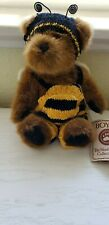 "Boyds Plush Bear ""Bumble B Bugsley"" Bee with Hang Tag #918700 Retired #07801"