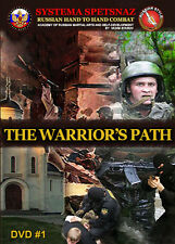 Russian Martial Arts Training DVD by Systema Spetsnaz - The Warrior's path