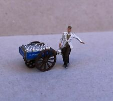 P&D Marsh OO Gauge Z53 Milkman with milk cart painted & finished