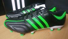 Adidas 11pro Adipure Gr. 43 UK 9 TRX FG schwarz grün fußballschuh Neu OVP Leder