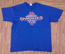 Tennessee Smokies Baseball Shirt ~ Men's Large L ~ Chicago Cubs Class AA