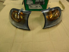 BMW 3 SERIES COUPE FRONT INDICATORS  2001-ON CLEAR LENS PAIR LUCAS LPS144/5