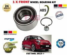 PER FIAT 500L 0.9 1.4 1.3 D 1.6 2013- > NUOVO 1 x ant. ABS Kit cuscinetto ruota
