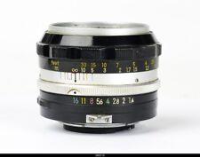 Nikon Nikkor S Auto Nippon Kogaku 50mm f1.4 Lens