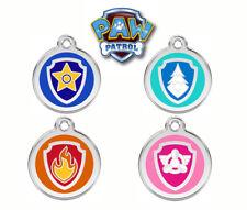 PAW PATROL Engraved / Personalised ID Tag / Key Ring / School Bag / Luggage Tag
