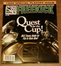 Mls 1998 Freekick Program Special Playoff Issue: Major League Soccer - Rose Bowl