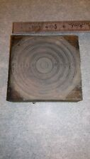"""Ancienne plaque imprimerie sur bois """"une cible de tirN°1"""""""