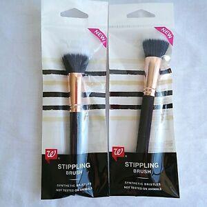 Stippling Brush Soft Bristle Makeup Brush Foundation Bronzer Walgreens Lot Of 2
