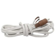 White Bose-RCA to Bare Wire Speaker Cable Acoustimass Lifestyle Brown 20ft