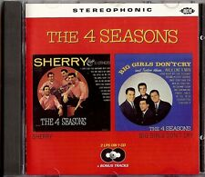 THE 4 SEASONS - SHERRY / BIG GIRLS DON'T CRY  CD  1994  ACE RECORDS