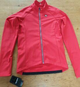 Giordana Fusion Long Sleeve Jersey Red XXL