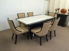 Marble Dining Table And 6  Chairs**Grand Designs**unbeatable Prices**