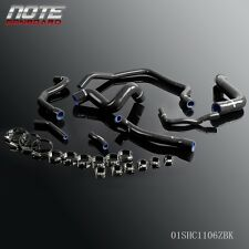 Silicone Water Heater Radiator Hose For BMW E34 M30 6CYC 525 528 530 89-95