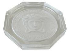 Rosenthal Versace Medusa Glasuntersetzer Ø 10,5cm, II.Wahl in kristall - AE 822
