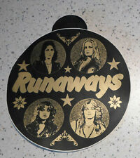 "original big 1970s Runaways Sticker 7 ,4"" / 20 cm Germany"
