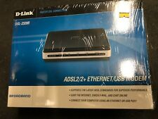 NEW D-Link DSL2320B ADSL2 Ethernet DSL Modem