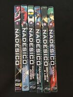Martian Successor Nadesico Anime DVD Collection (Vol. 1 - Vol. 6)