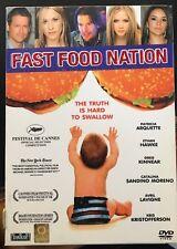 Affiche 120x160cm FAST FOOD NATION 2006 Avril Lavigne, Patricia Arquette,(b31)
