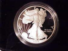 Beautiful, Proof, 2004 W, Silver America Eagle, U.S. Mint, Boxs, COA Coin