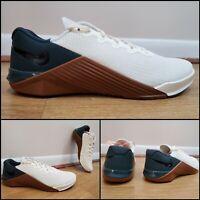 🔥 Nike Metcon 5 Training Shoes Ivory Seaweed AQ1189-123 Mens Size 10 Deadlift